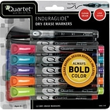 Quartet® EnduraGlide® Fine Tip Dry-Erase Marker, 12 Pack, 9 Assorted Colors