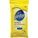 Pledge® with Lemon Wipes