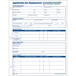 8-1/2x11 100/Pk Application for Employment