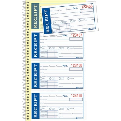 Adams® Write n Stick® Receipt Book
