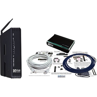 Xblue® X-50 VoIP Small Business Telephone System, With Wired and Wireless Router