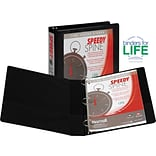 Samsill® Speedy Spine Round Ring Binder; 1-1/2