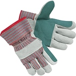 Lrg Dbl. Leather palm Shoulder Split Gloves