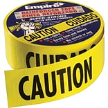 Empire® 3x200 Yel. Safety Barricade Tapes