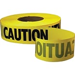 Empire® Yellow Level Safety Barricade Tapes
