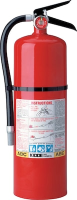 ProLine™ Multi-Purpose Dry Chemical Fire Extinguishers, Steel, 195 psi