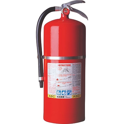 ProPlus™ Multi-Purpose Dry Chemical Fire Extinguishers, Steel, ABC Type, 100 psi