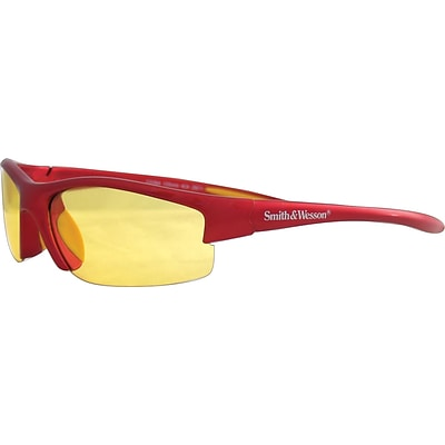 Smith & Wesson® Equalizer™ Safety Spectacles, Polycarbonate, Amber, Red