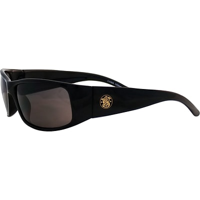Smith & Wesson® Elite™ Safety Spectacles, Polycarbonate, Clear, Black