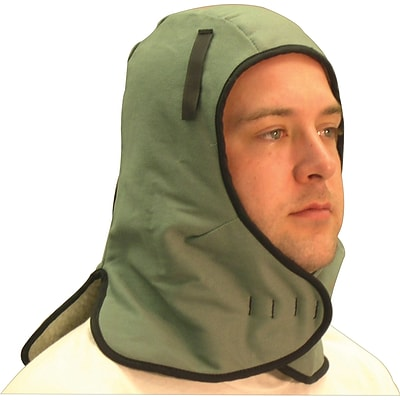 Anchor Brand Extra Large Neck Flap Winter Liners, Twill, Universal, Sheep Thermal, Light Green