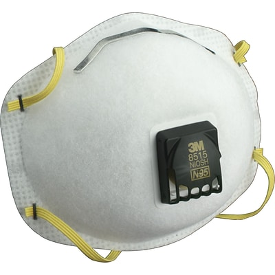 3M™ Half Facepiece Welding Respirator, N95, Non-Oil Particulates, Fixed Strap, 10/BX