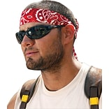 Chill-Its Red Western Tie Bandana, 24/Pk