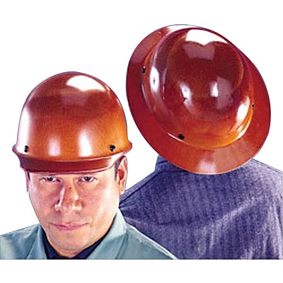 MSA Safety® Skullgard® Hard Hats, Standard, Staz-On, Hat, Natural Tan