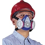 Med. Blue Half Face Air Purifying Respirator
