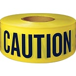 Yellow Danger Barricade Tape