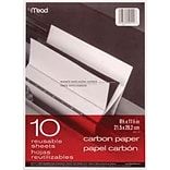 Mead® Black Carbon Mill Finish Paper