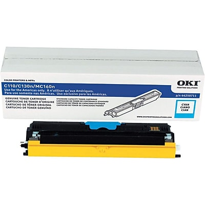 Okidata Cyan Toner Cartridge (44250711)