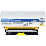 Okidata Yellow Toner Cartridge (44250713); High Yield