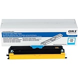 Okidata Cyan Toner Cartridge (44250715); High Yield