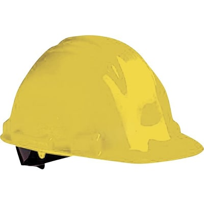 North® Peak Hard Hats, HDPE, 4 Point, Pink, Pin-Lock