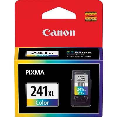 Canon CL-241XL Tri-Color Ink Cartridge (5208B001), High Yield