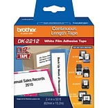 Brother® Continuous Length Film Label Tape 2 3/7
