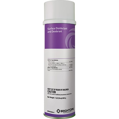 Brighton Professional™ Cleaners; Surface Disinfectant & Deodorizing Spray, 16 oz.