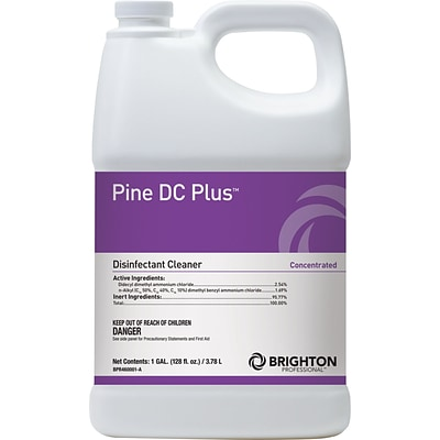Brighton Professional™ Pine DC Plus™ Disinfectant Cleaner, Pine Scent, 1 Gallon