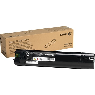 Xerox Phaser 6700 Black Toner Cartridge (106R01506)