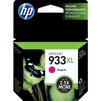 HP 933XL Magenta High Yield Ink Cartridge (CN055AN#140)