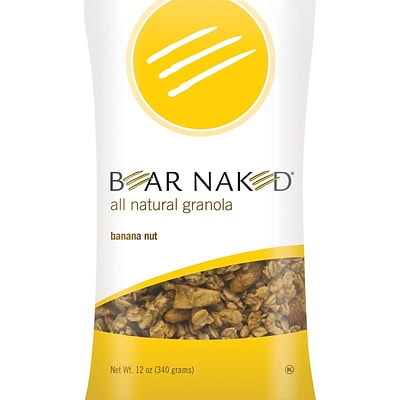 Bear Naked® Granola, Banana Nut, 12 oz. Bag