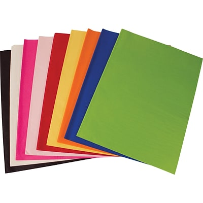 SatinWrap Solid Cerise Tissue Paper Sheets, Size 20 x 30
