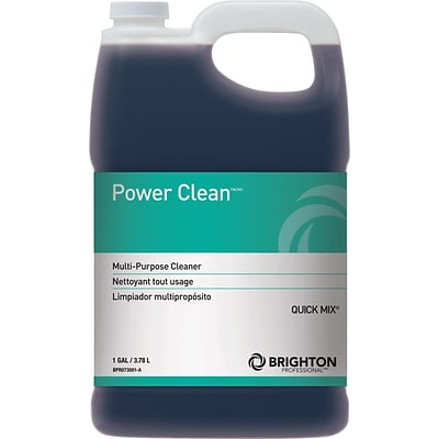Brighton Professional™ Power Clean™ #7 All Purpose Cleaner, Quick Mix, 1 Gallon, 2/CT