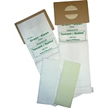 Green Klean® Replacement Vacuum Bags Fits Tennant/Nobles LiteTrac, 2200, Viper & Whirlwind,V-HDU-14,