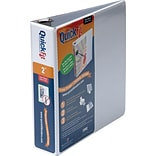 QuickFit® 2 D-Ring White View Binder