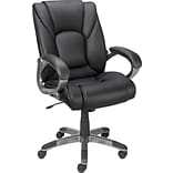 Black Luxura™ Upholstery Managers Chair