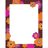 Great Papers® Bright Poppies Letterhead, 80/Pack