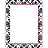Great Papers® Black & White Damask Stationery, 80/Pack