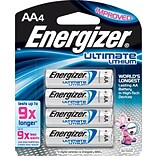 Energizer® Lithium AA Battery 4-Pack