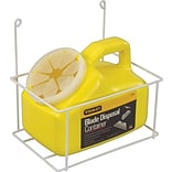 Stanley Blade Disp. Containers w/Wire Rack