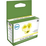 Dell Series 31 Yellow Ink Cartridge; (YWKG8)