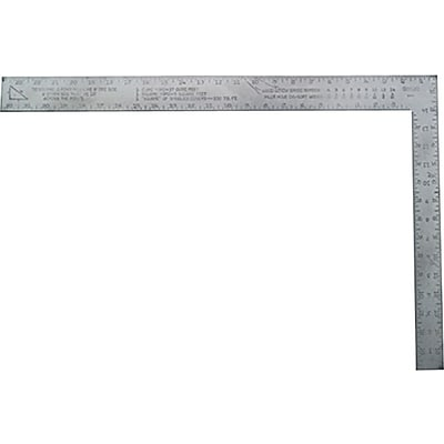 Stanley® Homeowner Carpenters Framing Square, 24 x 2 x 0.2 Blade