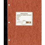 National® Quad Ruled Computation & Lab Notebook, 9-1/4 x 11, 100 Numbered Sets