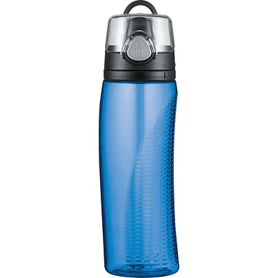 Intak by Thermos® Hydration Bottle with Meter, Blue 24oz