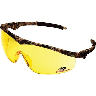 Crews Mossy Oak® Safety Glasses, Adjustable Temples, Camoflauge (MO117)