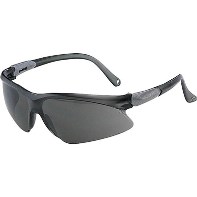 Jackson Safety Glasses, V20 VISIO, Foldable Temples, Black