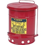 Justrite 14gallons Oily Waste Cans