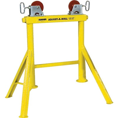 Sumner® Stands, Hi Adjust-A-Roll Stands, 2000 lb. load capacity