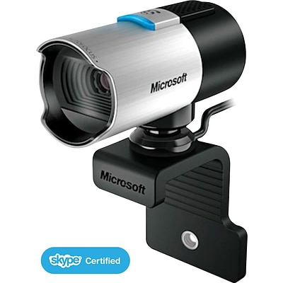 Microsoft® LifeCam Studio, 1080p HD Webcam, Black (Q2F-00013)