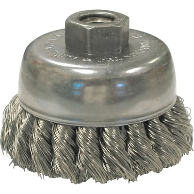 Anderson® Knot Wire Cup Brushes For Small Angle Grinders; US & USC Series, 2 3/4 in